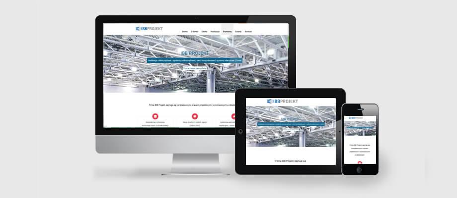 strona internetowa dla firmy budowlanej