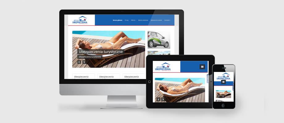 Strona internetowa dla agencji ubezpieczeniowej