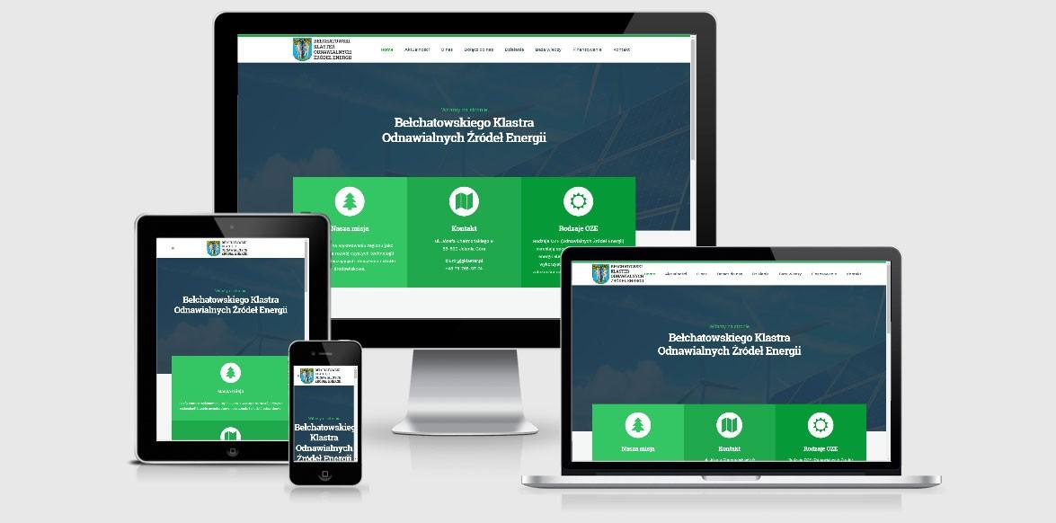 Strona internetowa - energia odnawialna