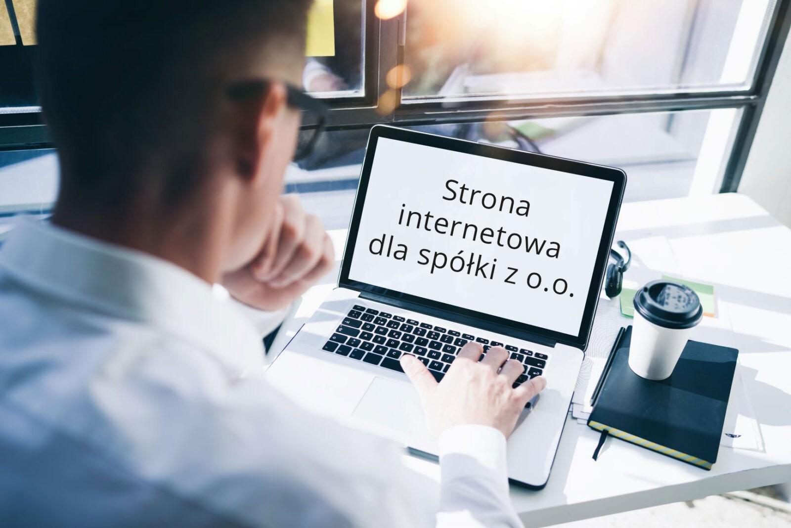 Strona internetowa dla spółki z o.o.