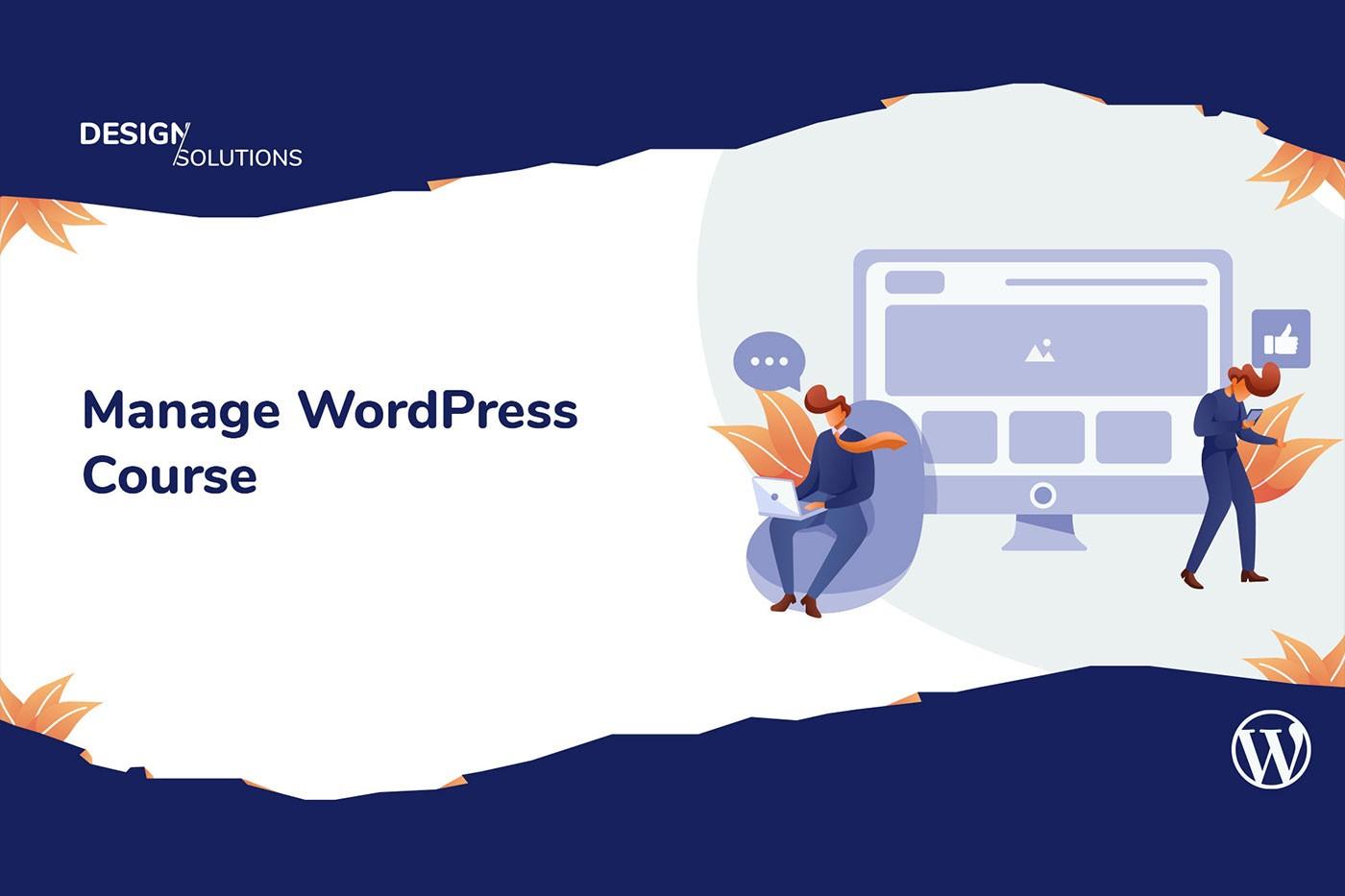 WordPress: zarządzanie stroną - video kurs on-line